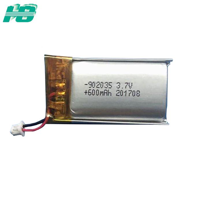 浩博902025聚合物锂电池600mAh可定制3.7V<em>医疗</em>便携式电源厂家