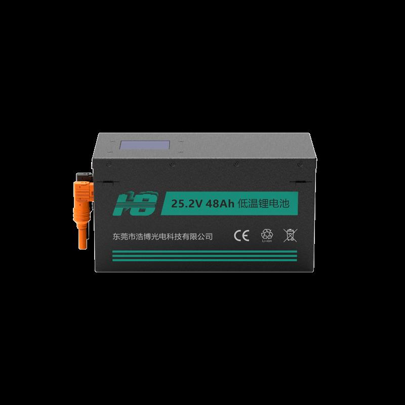 -40℃低温电池,25.2V 48Ah 21700 可定制磷酸铁锂电池组