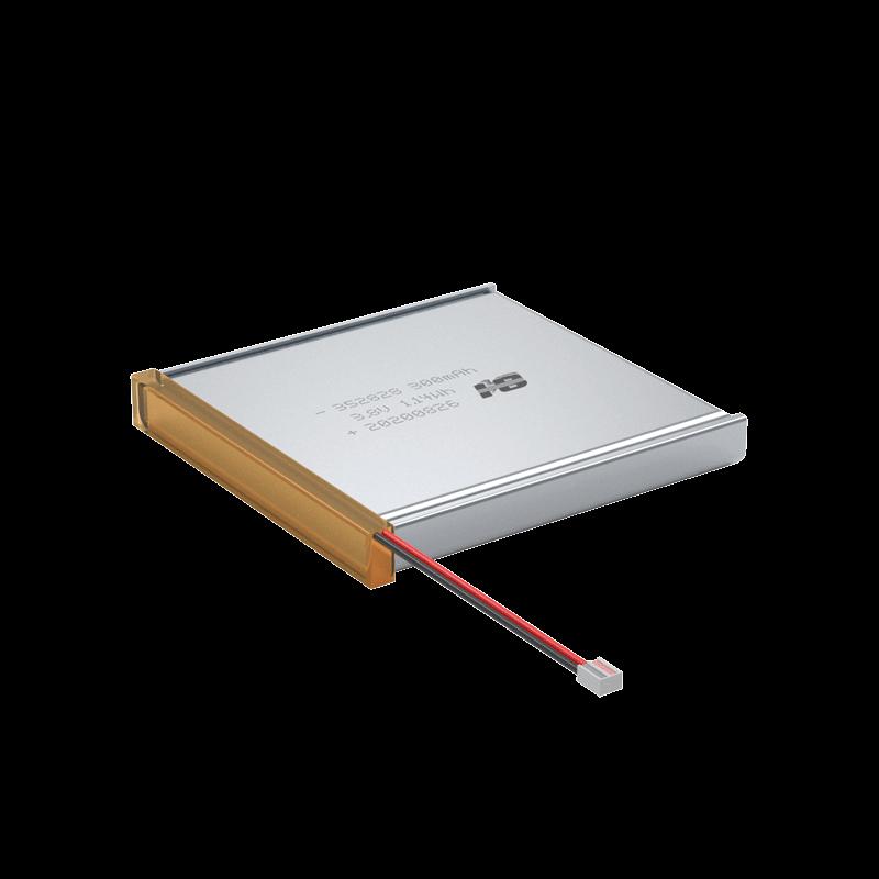 3.8V 300mAh 352828 过CQC UL UN38.3等认证聚合物锂电池