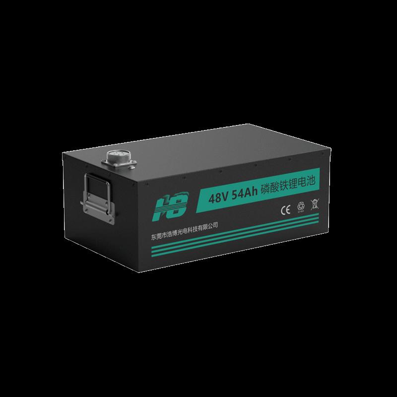 48V 54Ah 32700 安防通讯磷酸铁锂电池定制案例