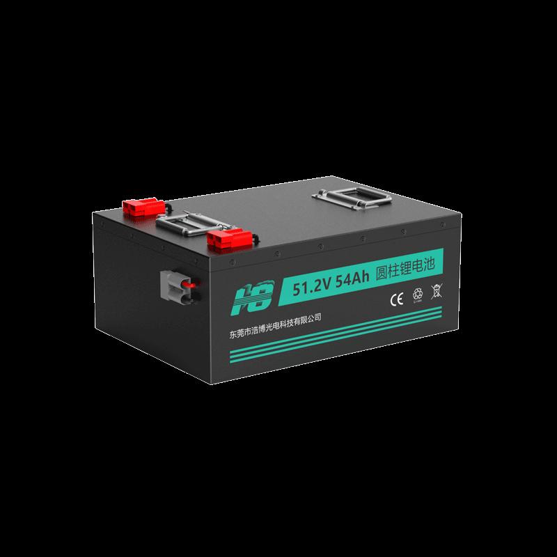 51.2V 54Ah 32700 AGV车用动力锂电池定制案例