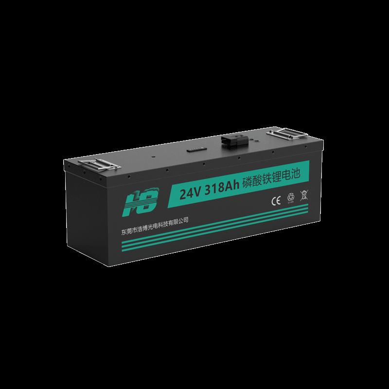 浩博32700磷酸铁锂电池24V318Ah大容量定制游乐船动力电源生产厂家