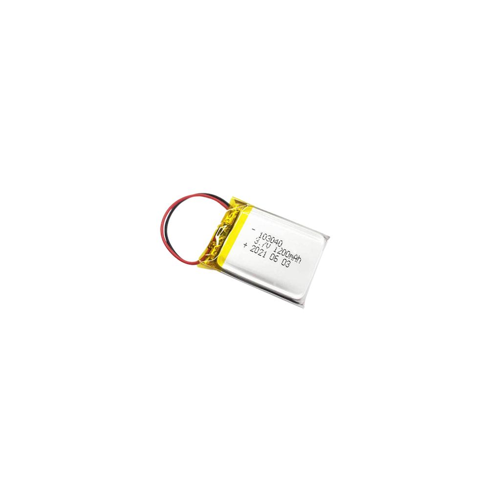 浩博-40℃低温聚合物锂电池103040大容量3.7V定制充电电源厂家