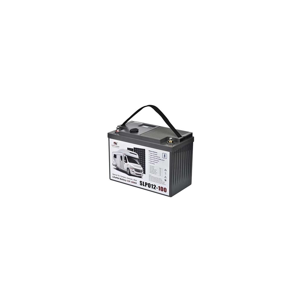 浩博12.8V100Ah房车电池智能BMS通讯48V模组磷酸铁锂定制电源厂家