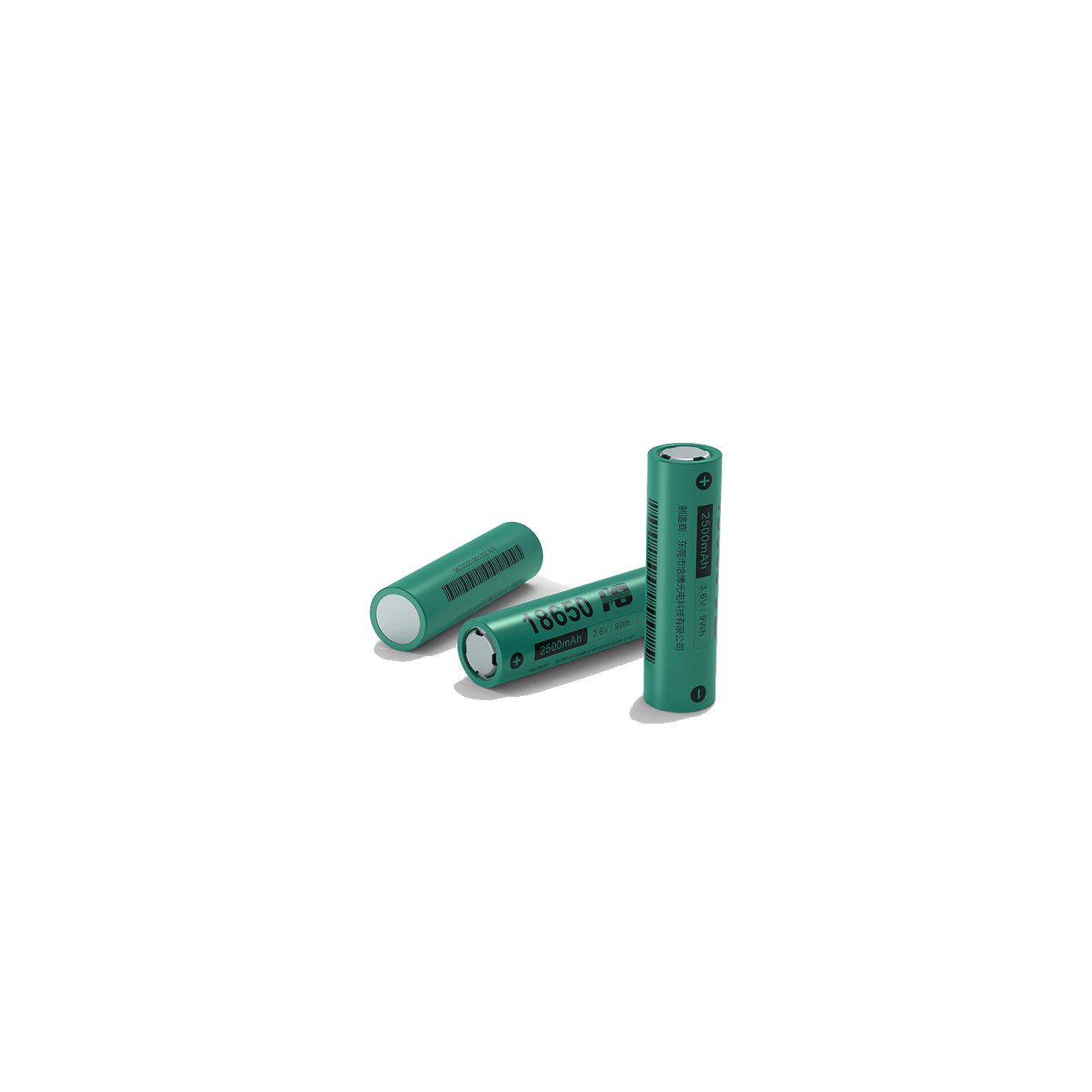 浩博18650特种锂电池2500mAh三元3.7V定制-50℃低温充电电源厂家