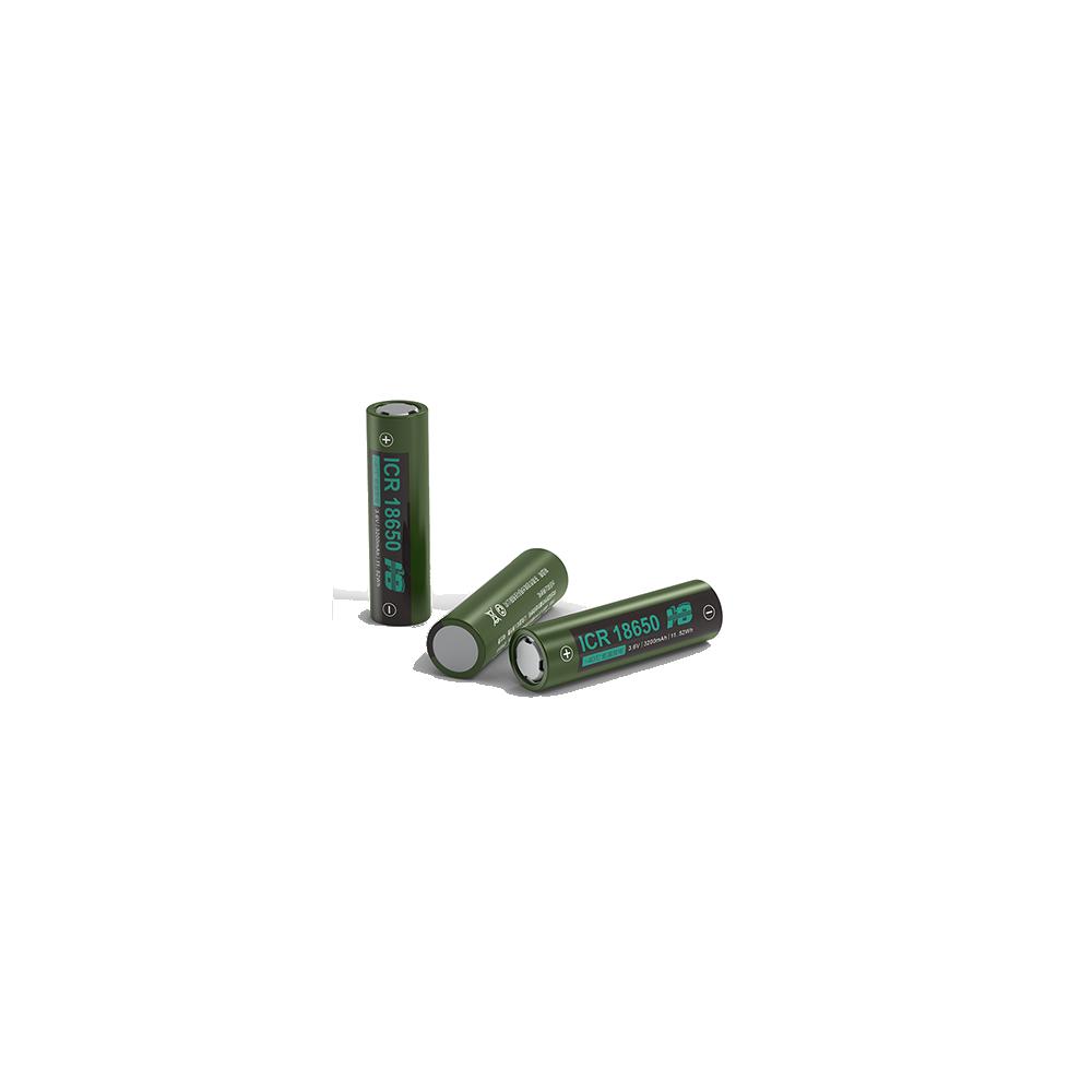 浩博18650特种锂电池3200mAh三元3.7V定制-50℃低温充电电源厂家